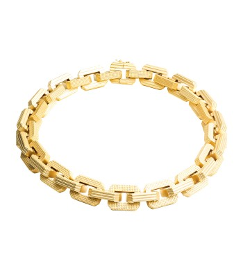 Eddie Borgo Large Supra Link Choker - Gold Necklace - ShopBAZAAR