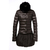 Moncler Women Satomi Long Down Coat Brown