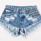 450 acid studded babe shorts   runwaydreamz
