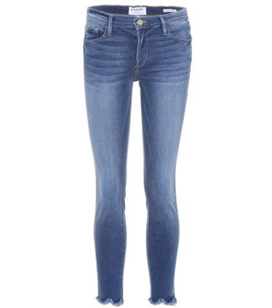 FRAME jeans high blue