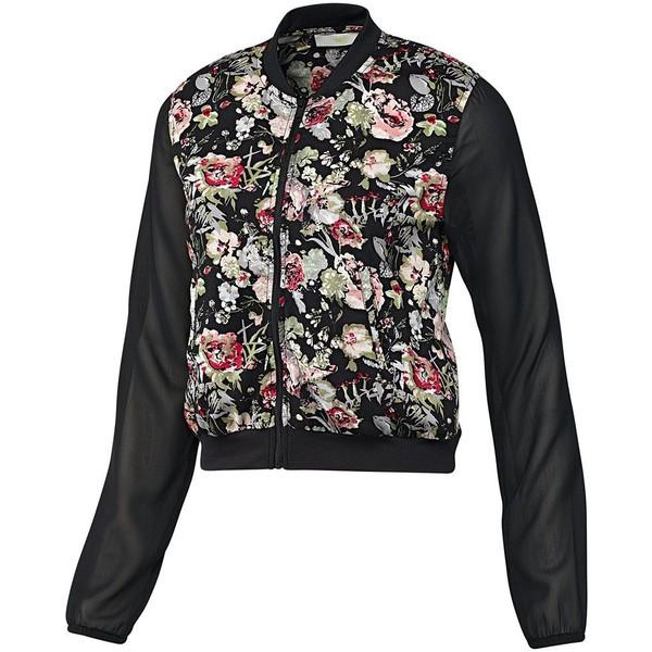 Adidas Selena Gomez Flower Jacket - Polyvore