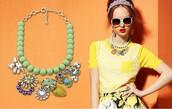 jewels,necklace,friendship necklace,big necklace