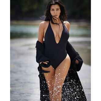 swimwear peixoto one piece swimsuit kim kardashian beach one piece