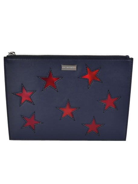 Stella McCartney embroidered clutch stars bag