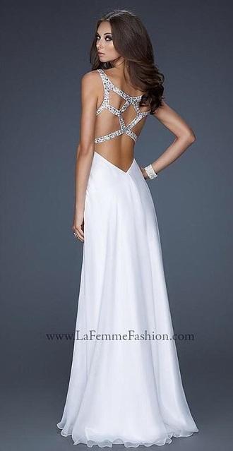 dress backless lafemme dresses lafemme prom dresses