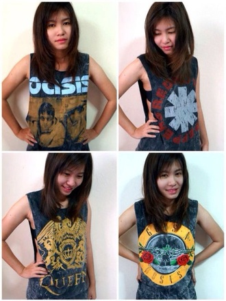 top queen tank top queen oasis gun n roses tank top gun n roses guns and roses gun n roses shirt gun n roses tank the queen queen shirt red hot chilly peppers red hot tank top rhcp red hot shirt oasis shirt oasis tank top oasis tank