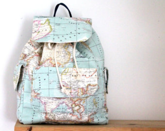 Map printed backpacktraveller unisexdaily useback to school world map printed backpacktraveller unisexdaily useback to schoolvalentines day gumiabroncs Gallery