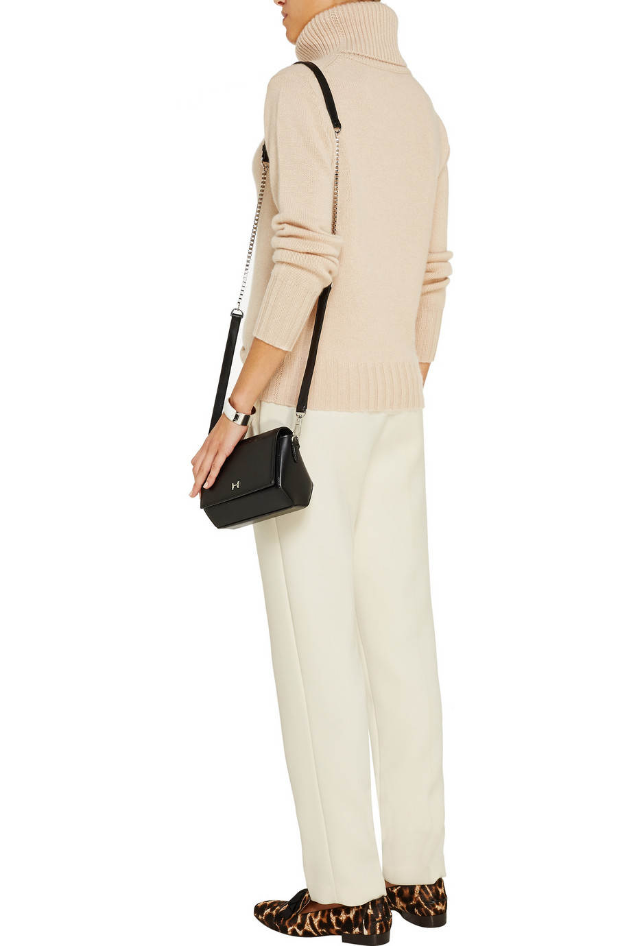 N.Peal Cashmere Cashmere turtleneck sweater – 50% at THE OUTNET.COM