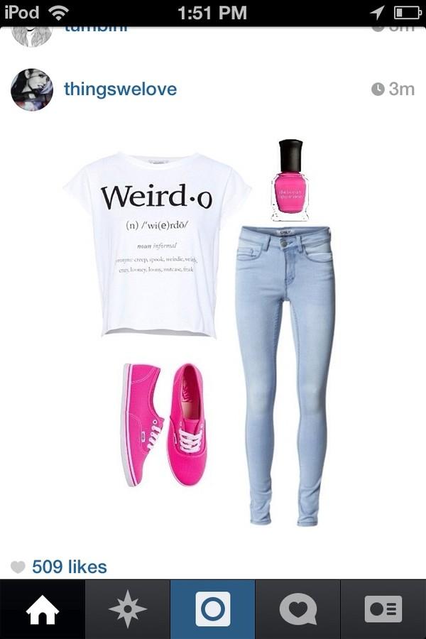shirt weirdo cute style