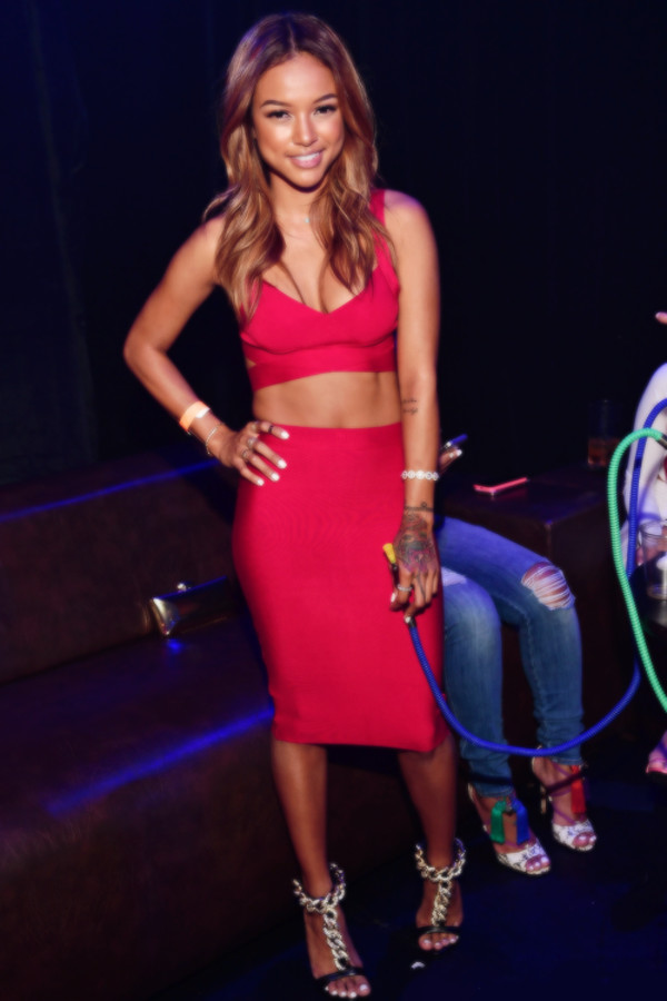 skirt karrueche top