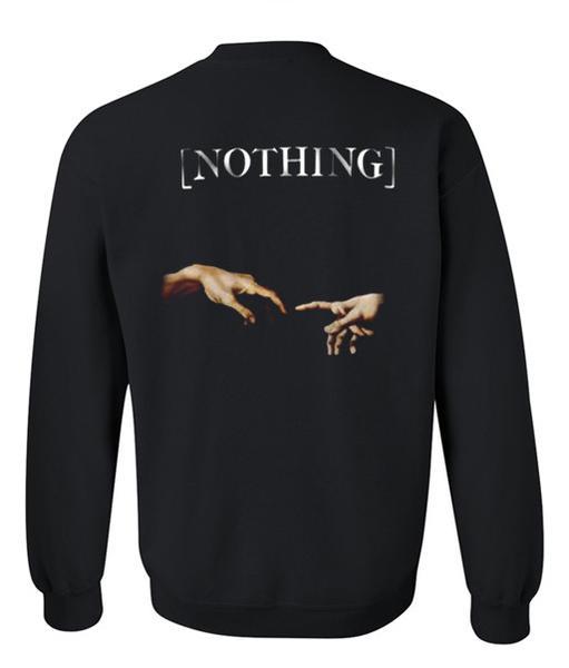 nothing sweatshirt back