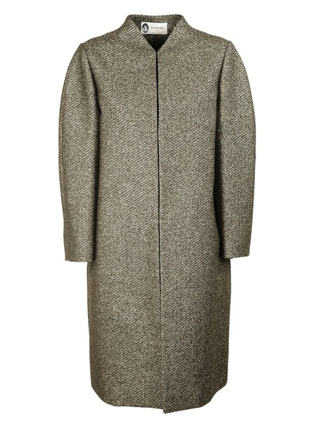 lanvin coat gold