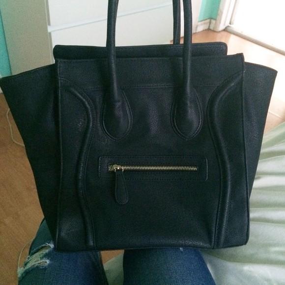 bag black bag kylie jenner celine paris