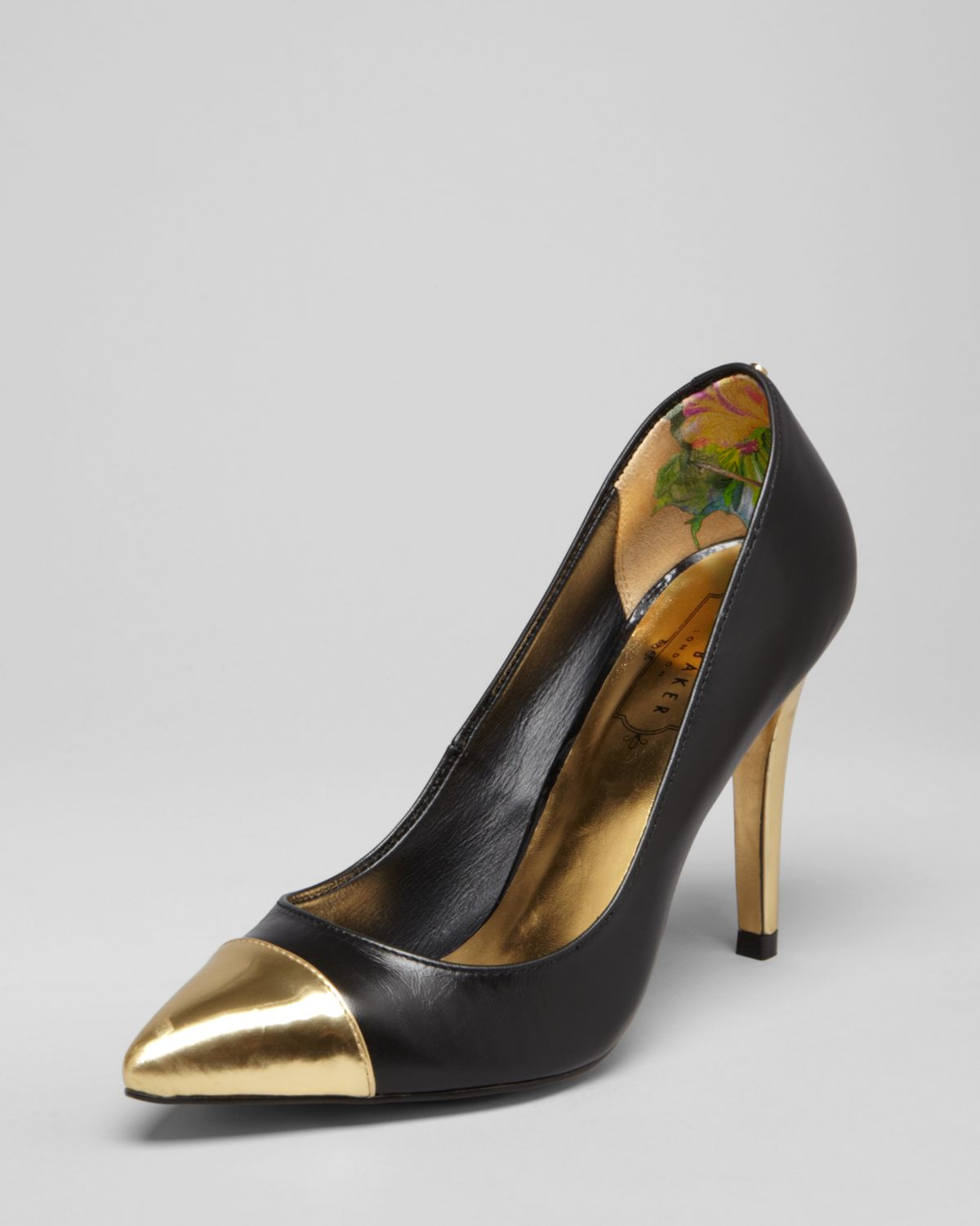 Ted Baker Pointed Toe Cap Toe Pumps - Saysa High Heel ...