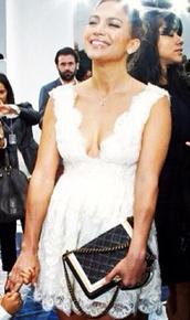 dress,jennifer lopez,bandage dress,spring outfits,fit and flair,sexy dress,white dress,hot pants