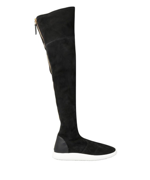 Giuseppe Zanotti suede boots suede shoes