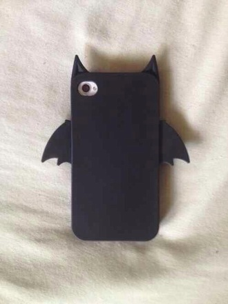 phone cover bat black batman