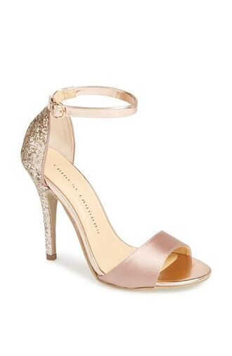 shoes prom shoes sandal heels high heel sandals sandals gold sandals