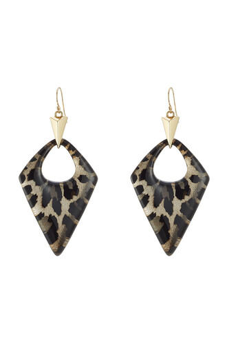 animal earrings print animal print jewels