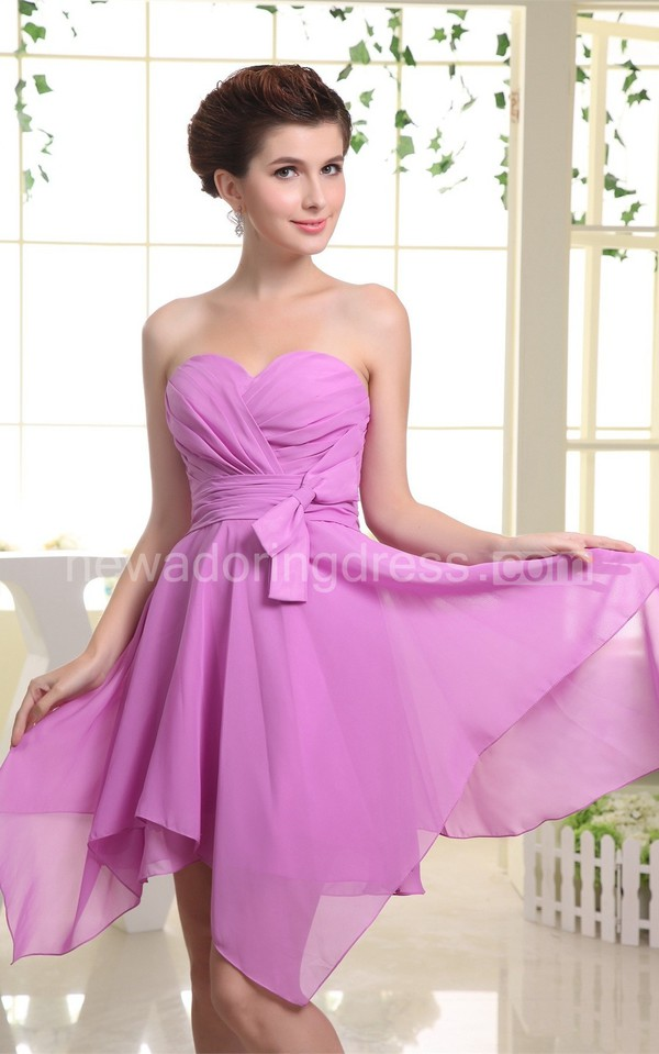 Aliexpress.com : Buy Simple Purple Short Bridesmaid ...