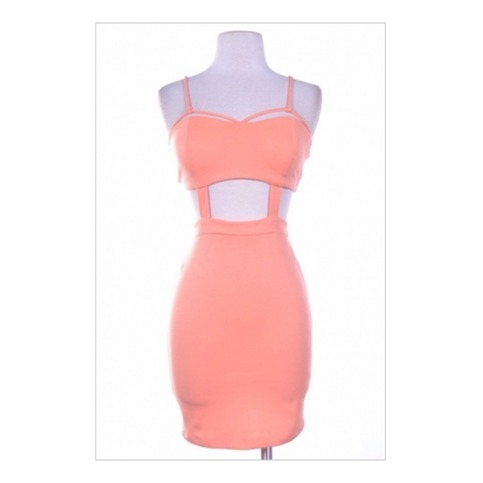 Peach Bodycon Dress | Forever Mint | Online Store Powered by Storenvy