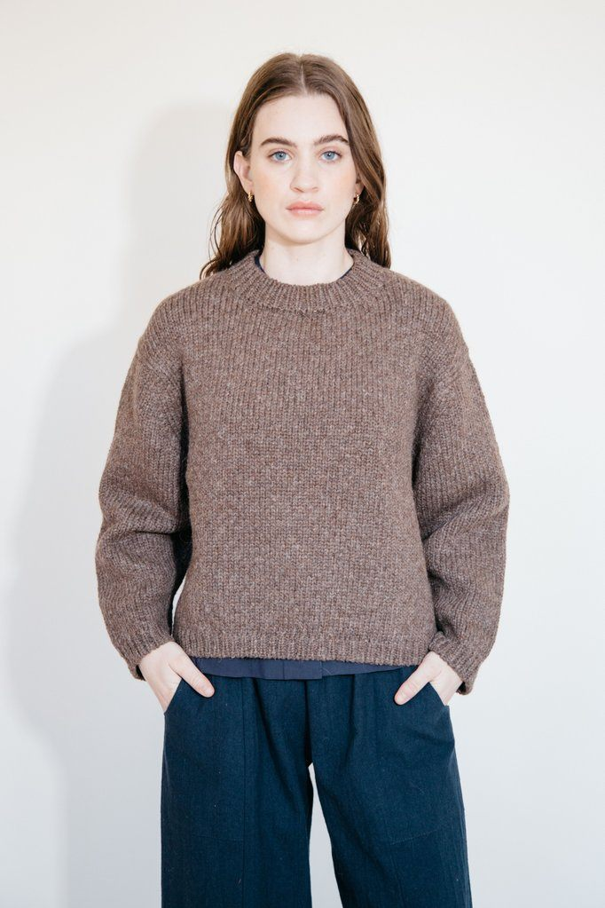 SABLE PULLOVER SWEATER, ROOT