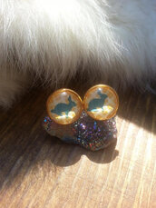 jewels,the glitzy hen,fall outfits,bunny earringss,tud earrings,stud earrings,gold,gold earrings,woodland,woodland jewelry