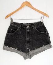 shorts,High waisted shorts,hipster,grunge,punk,cut off shorts