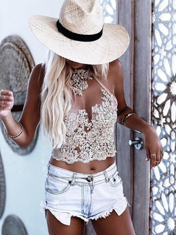 top mynystyle girly sexy cute lace crop tops girly wishlist lace top