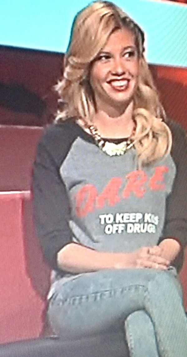 chanel west coast girl tv sweatshirt style