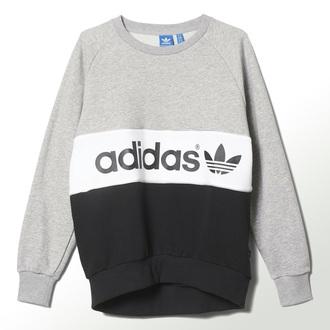 top adidas crewneck sweatshirt crewneck black grey sweatshirt women classic reebok