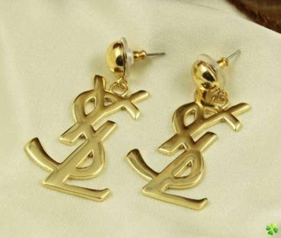 yves saint laurent jewels earrings