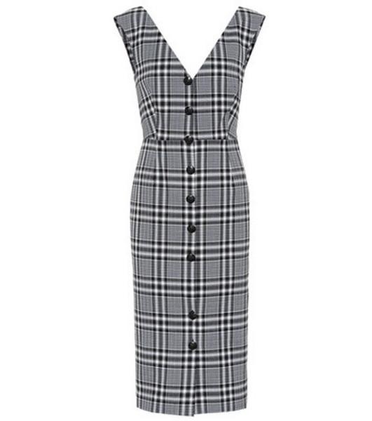 Veronica Beard Lark stretch cotton dress in black