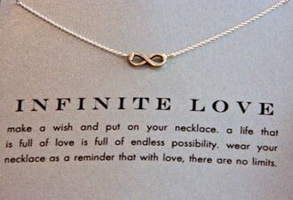 jewels infinite infinite love wish life no limits necklace love necklace infinity necklace