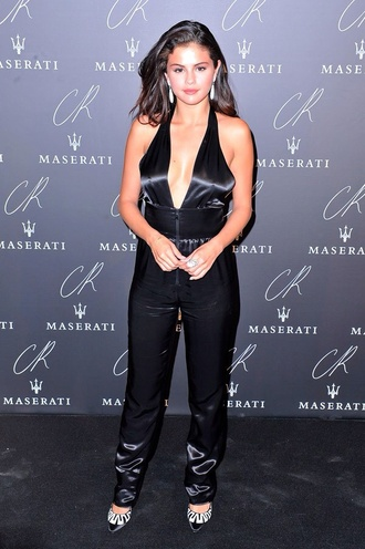 jumpsuit selena gomez outfit style