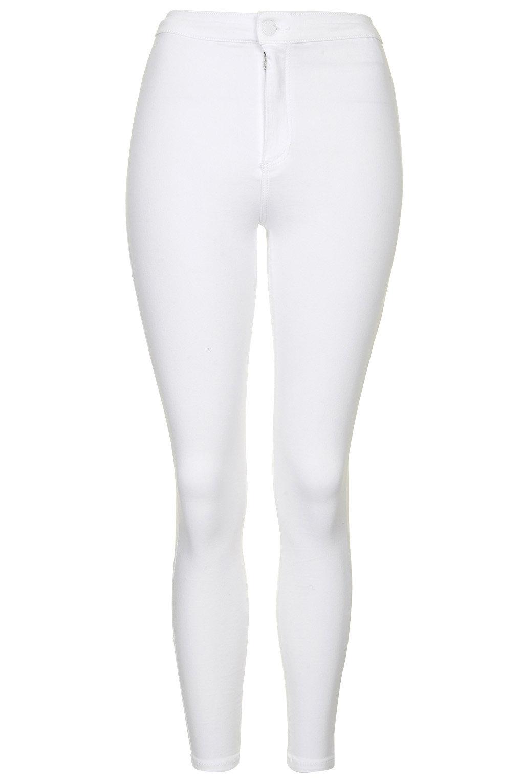 MOTO White Wash Joni Jeans - Topshop