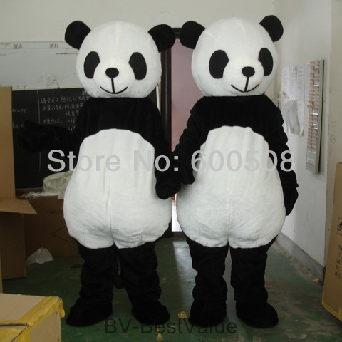 wholesale giant panda adult costume panda mascot costume plush animal costume-in Costumes from Apparel & Accessories on Aliexpress.com