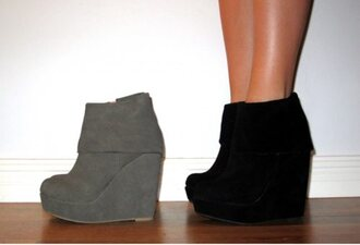shoes black shoes black wedges grey grey shoes