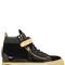 20mm bangle velvet & patent sneakers