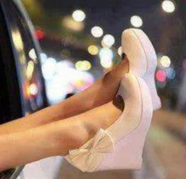 shoes cute high heels bow