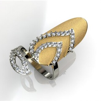 jewels nail rings rose gold nail sexy lips nail ring with cubic zirconia inlaid in 18k yellow gold plated 925 sterling silver silver ring silver ring for nail evolees.com