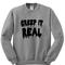 Creepy sweatshirt