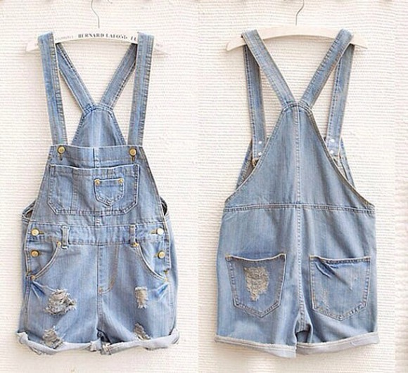 jeans jeans, distressed, denim, over alls, shorts, overalls, shorts overalls summer denim overall shorts pants cute summer outfits jeans, boyfriend, cropped, light wash, denim