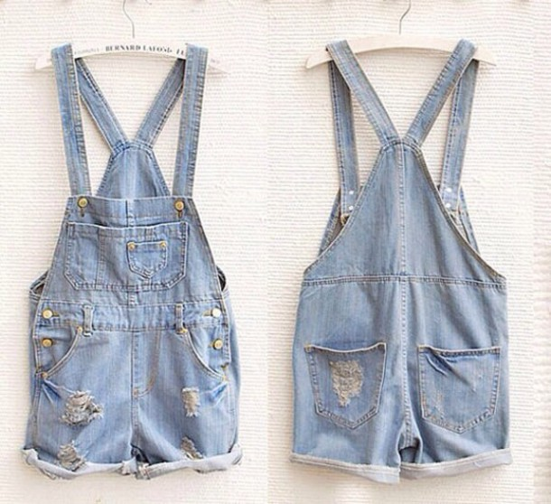 overalls jeans short overalls summer denim overall shorts pants summer outfits cropped acid wash denim denim overalls