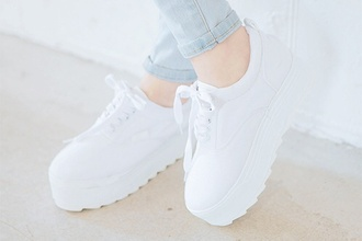 shoes white white shoes weheartit tumblr pastel cute trendy