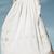 White Eyelet Flower Embroidery Pleated Maxi Skirt - Sheinside.com