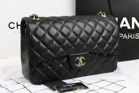 Bolsa Chanel Classic Flap - BLACK - Rosa   Pink
