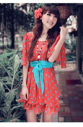 dress,pink,beautiful,dotted