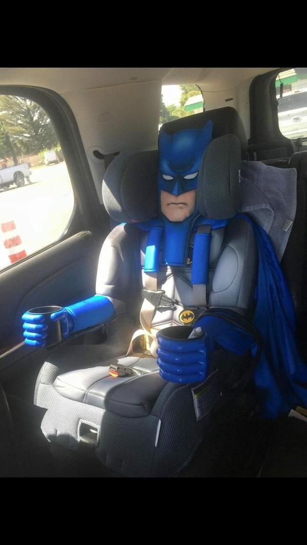Home accessory: batman, kids fashion, car seat, cars, car - Wheretoget