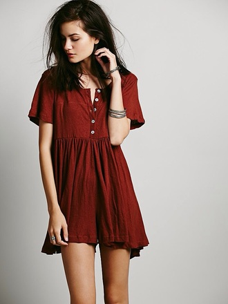 dress 2017 babydoll dress short dress angel effortless sweet girl red dress red casual buttons corduroy fashion fashion 2016 trendy brunette sexy brunette sweet button up dress bare legs deep red button downs high-low dresses fresh dressed cute cute dress simple dress day dress short sleeve pleated pleated dress wine red ruffle
